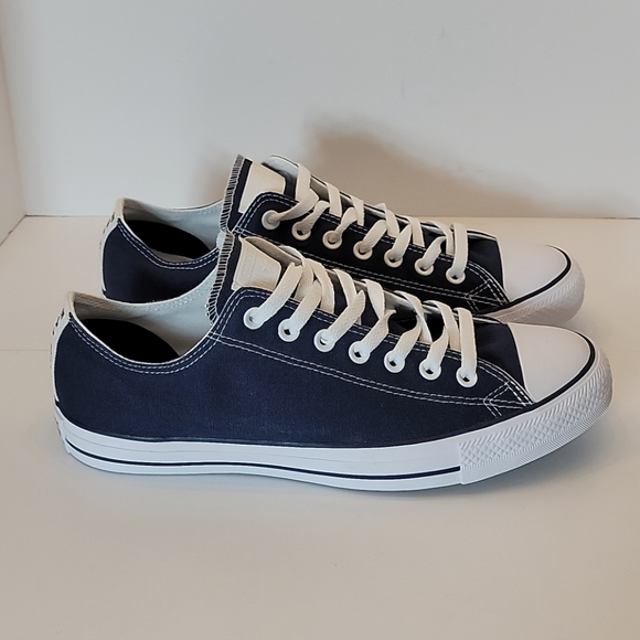 Converse All-Star Customized Navy Blue Oxfords